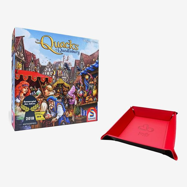 Quacks of Quindleburg with Dice Tray Holder