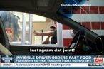 Guy Turns Himself Into Car Seat, Punks Fast-Food Workers