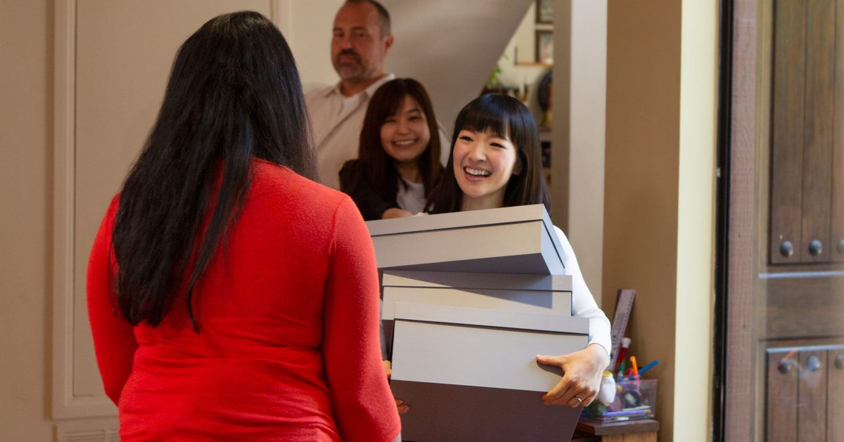 Tidying Up With Marie Kondo' Netflix Review