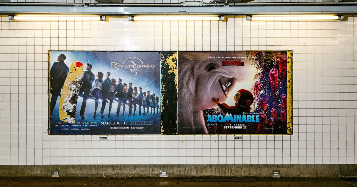 The Zombie Billboards of Locked-Down New York