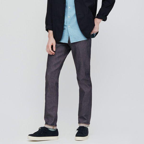 Uniqlo Stretch Selvedge Slim-Fit Jeans