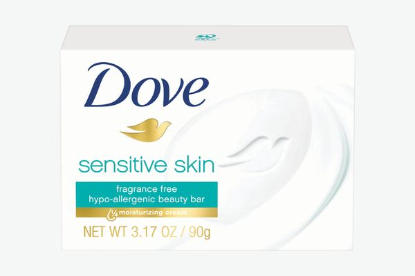 Dove Sensitive Skin Beauty Bar, 10-Count