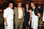 Josh Charles and Tom Colicchio Cook and Drink Corzo Together; Ed Westwick Keeps Things in Check at Barrow St. Ale House