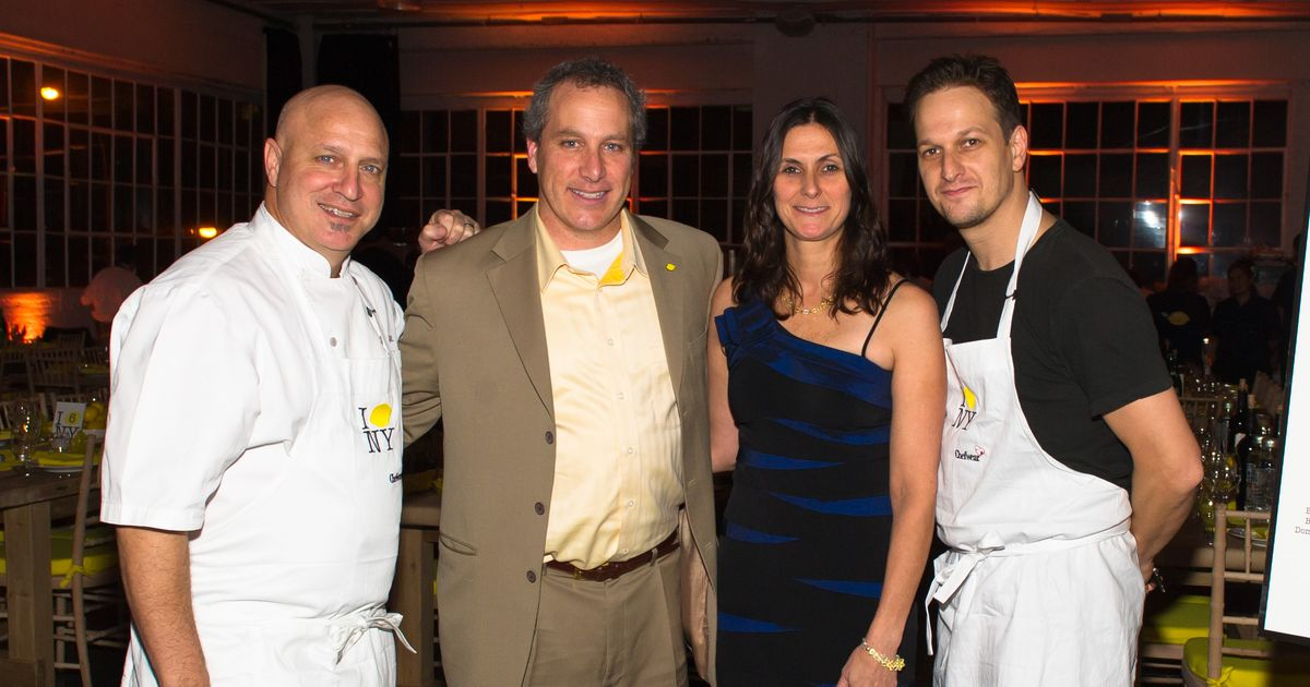 Josh Charles And Tom Colicchio Cook And Drink Corzo