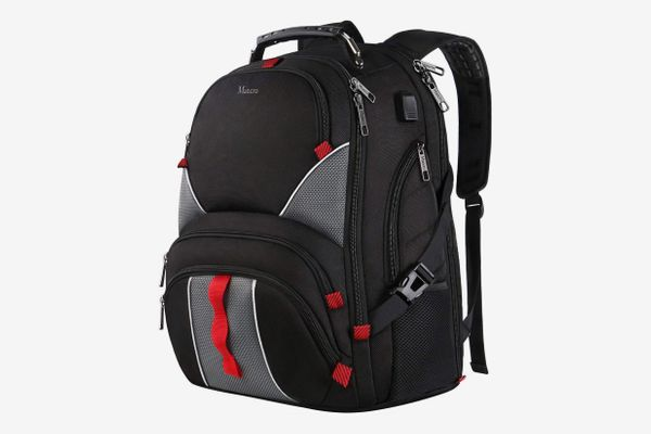Mancro High Capacity Laptop Travel Backpack
