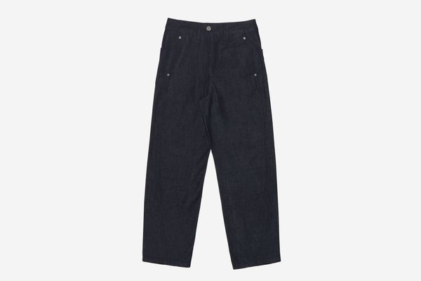 Lemaire SSENSE Exclusive Navy Twisted Jeans