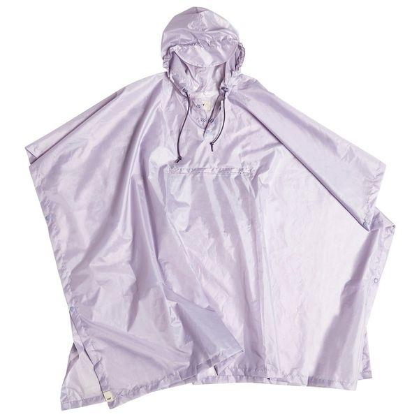Mono Rain Poncho in Lavender