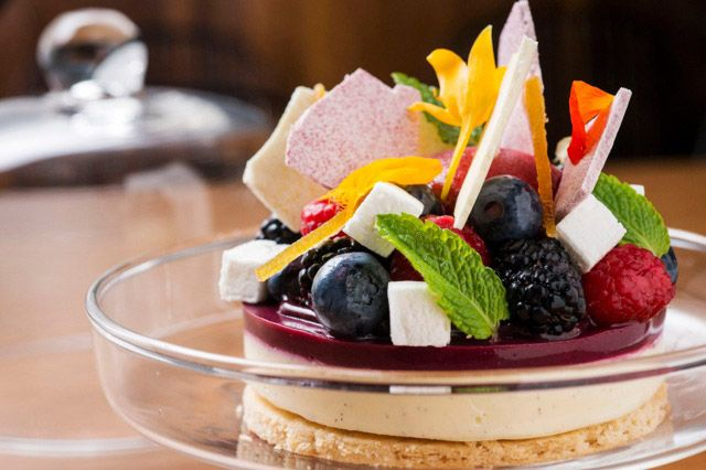 The Elm's red-fruit tart is intended to be shared, but no judgement if you eat it by yourself.