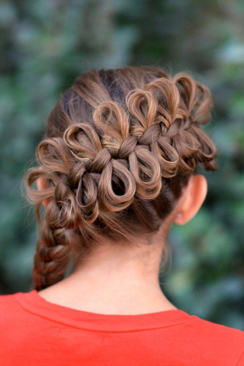 Красивые прически на средние волосы девочки 11 лет