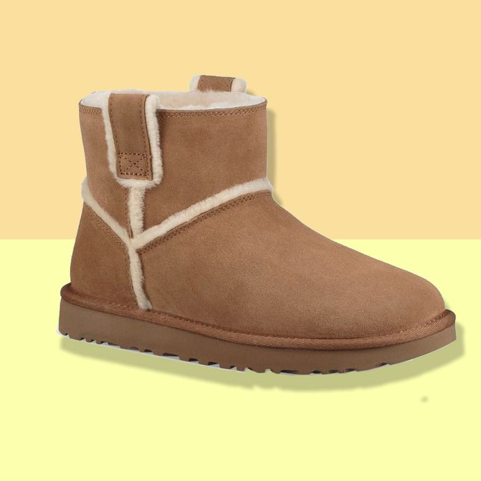 UGG Mini Classic Genuine Shearling Boot