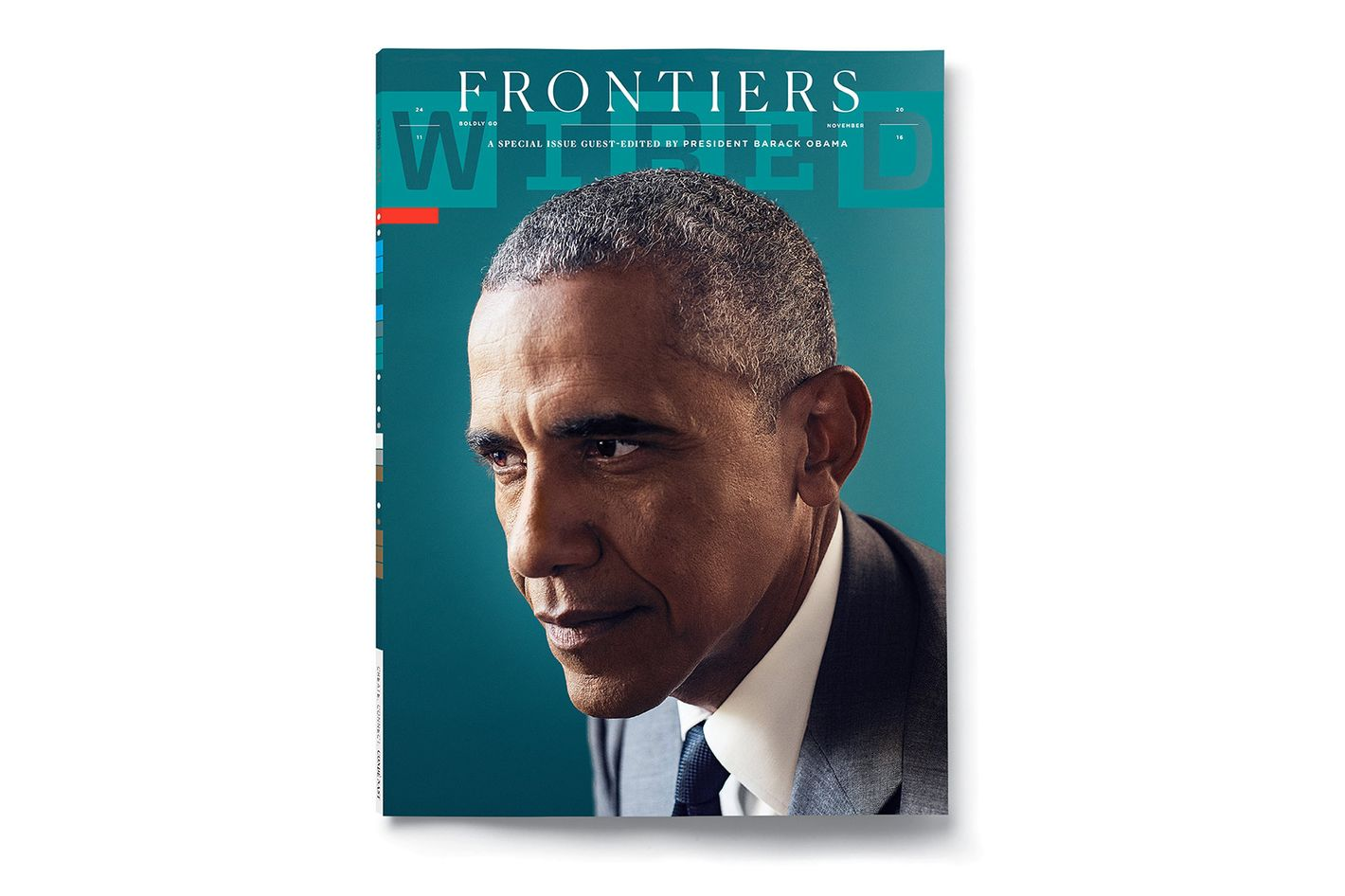 Barack Obama Talks Artificial Intelligence in Wired