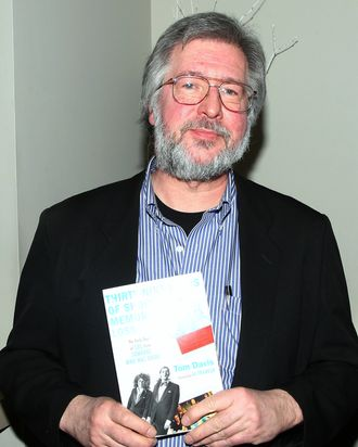 Writer Tom Davis attends his