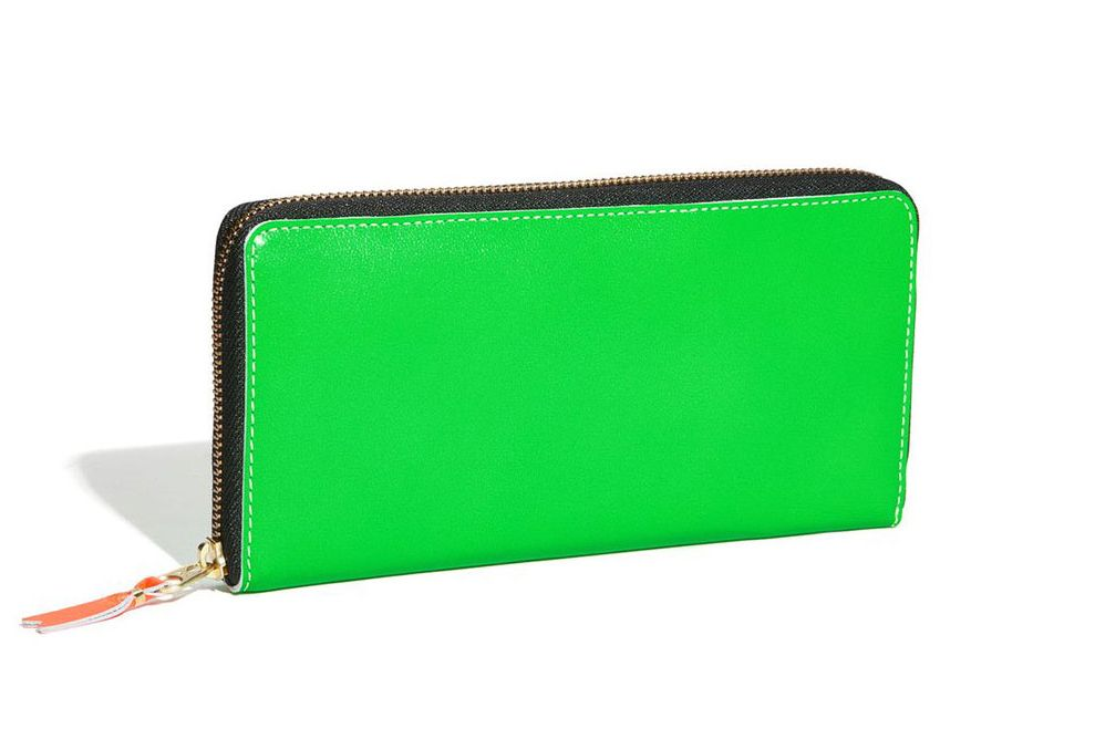 Comme des Garcons Super Fluo Continental Long Wallet