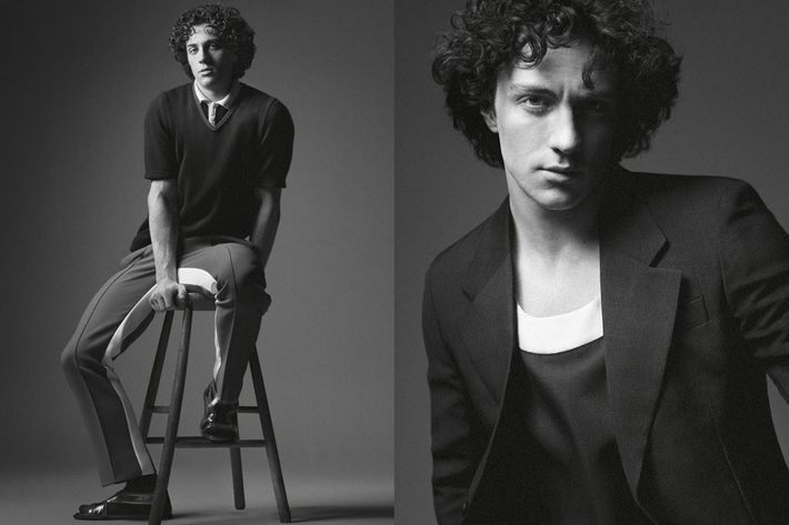 Aaron Taylor-Johnson for Prada.