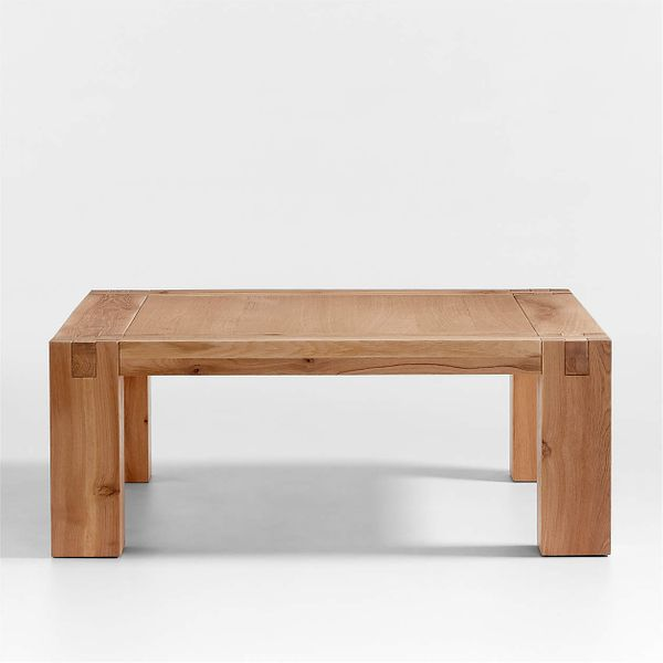 Shinola Utility Square Oak Coffee Table