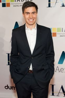 Ricky Van Veen attends the IAC + AEREO Official Internet Week New York HQ Closing Party May 17, 2012 © Alexander Michael / Retna Ltd.