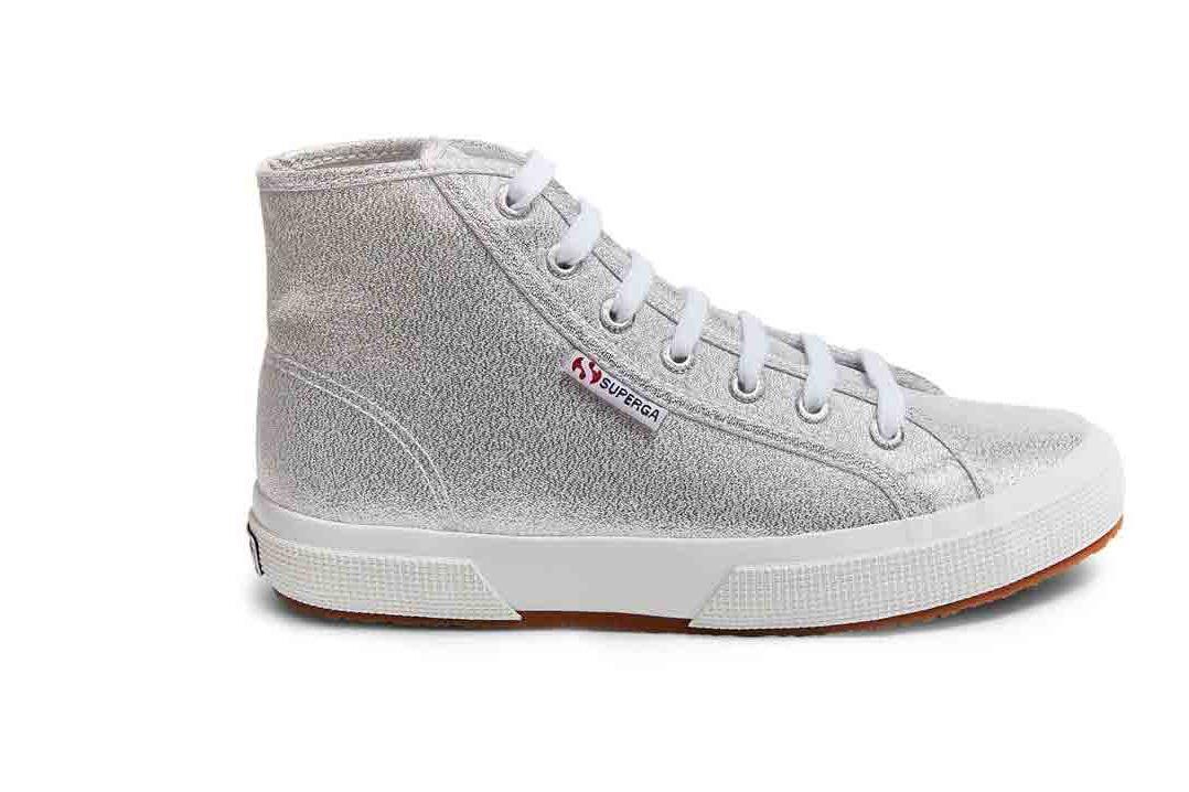 Superga Lame Sneakers