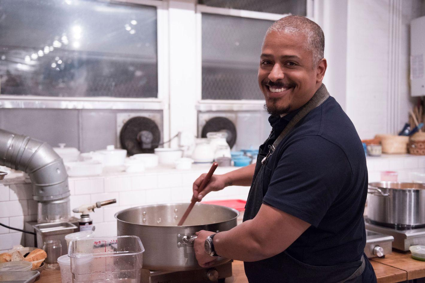 Chef Miguel Trinidad.