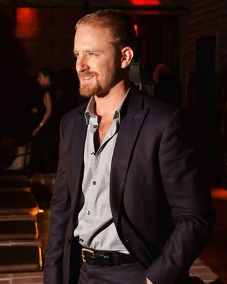 NEW YORK, NY - AUGUST 13: Actor Ben Foster attends the Downtown Calvin Klein with The Cinema Society screening of IFC Films'