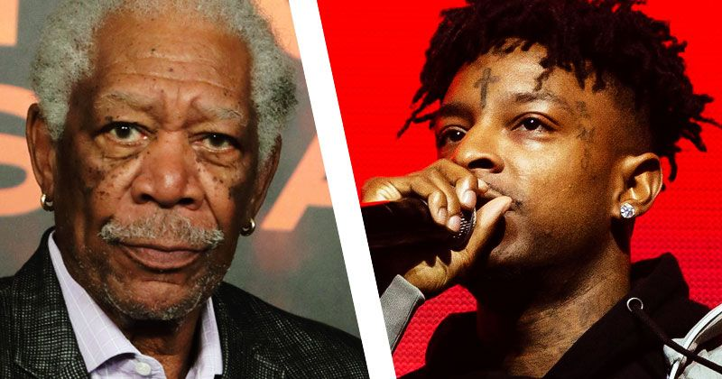 listen morgan freeman on 21 savage new album savage mode ii morgan freeman on 21 savage new album