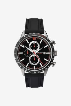 SEKONDA Mens Chronograph Quartz Watch with Rubber Strap