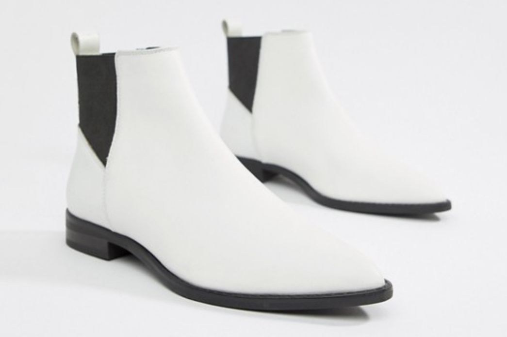 ASOS Design Atom Leather Chelsea Boots