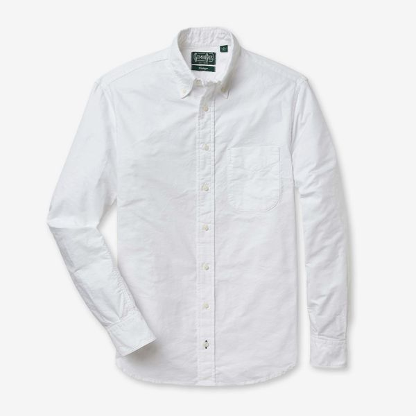 Gitman Bros. Vintage White Oxford