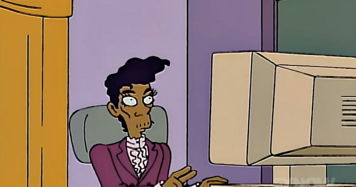 Remember That Time Conan O'Brien Helped Write a Simpsons Episode About Prince That Never Got Made?
