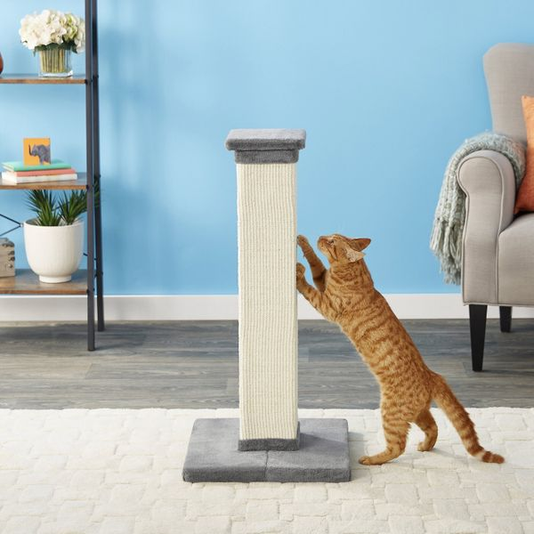 Frisco 33.5-Inch Scratching Post/Tower