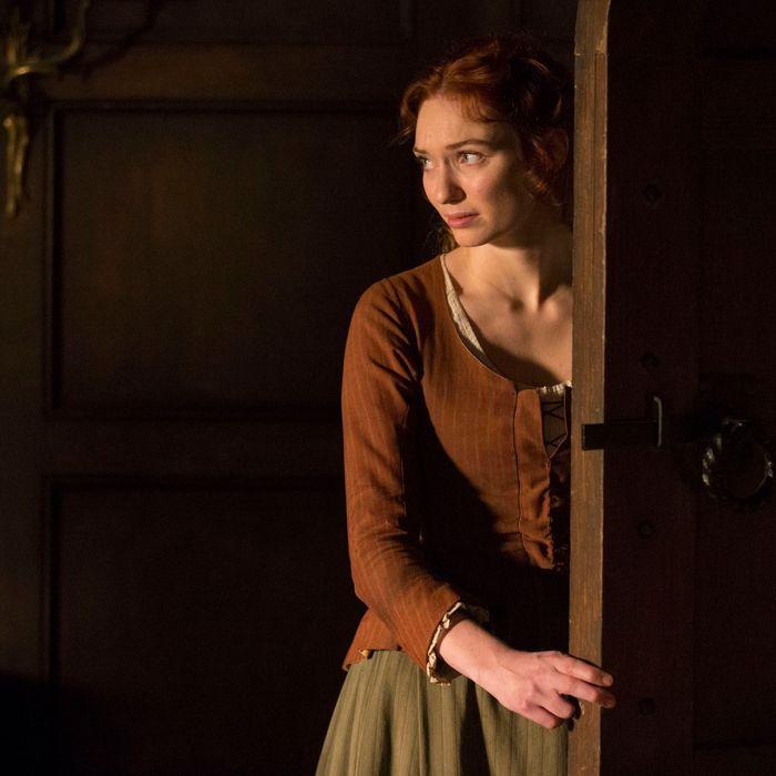 Eleanor Tomlinson as Demelza.