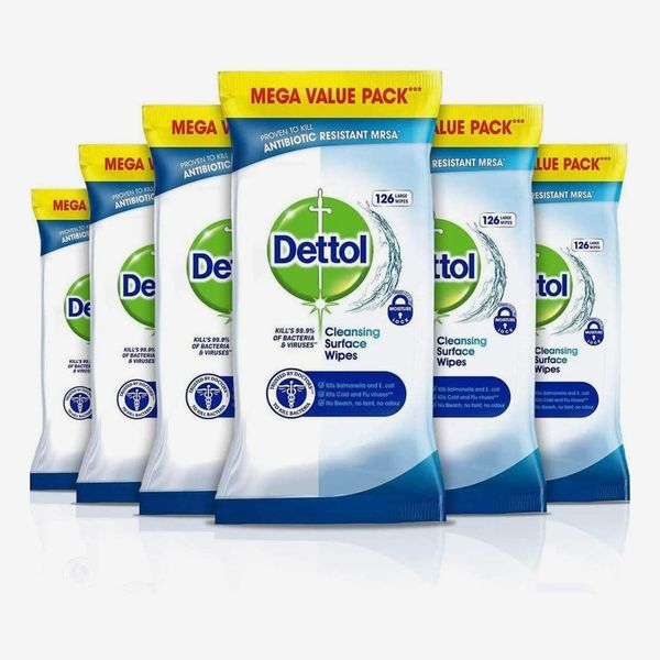 Dettol Antibacterial Wipes (Pack of 6)