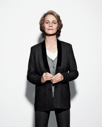 Charlotte Rampling has a Best Actress nomination for <em>45 Years</em>.