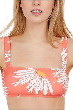 Kate Spade Printed Bralette Bikini Top