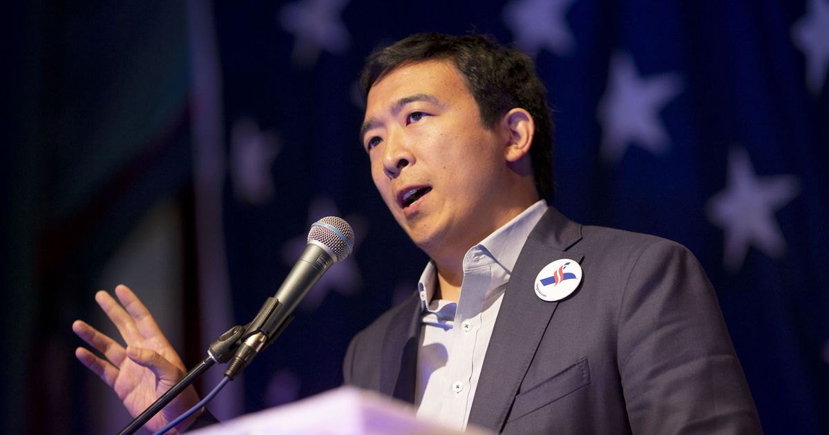 Andrew Yang to Announce $120,000 Universal Basic Income Debate Raffle
