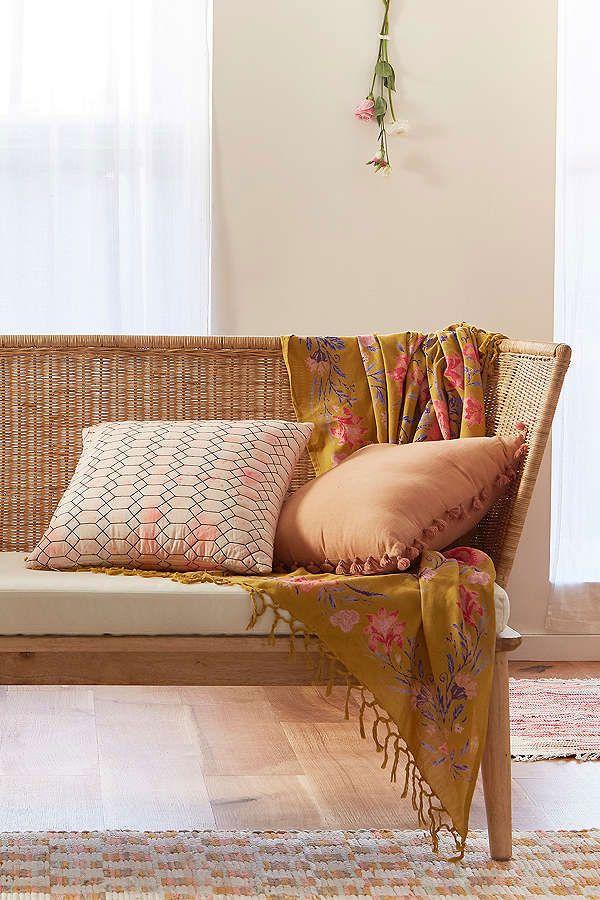 Shea Splatter Quilted Pillow