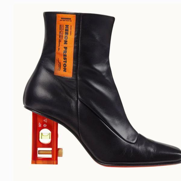 Heron Preston Black Level Boots