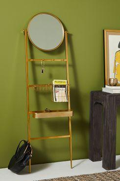 Adrianne Storage Ladder Mirror