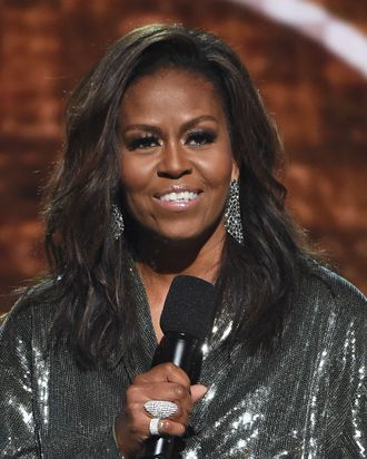 Michelle Obama Shares Text Exchange With Mom After Grammys