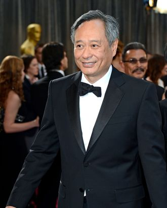 Director Ang Lee arrives at the Oscars at Hollywood & Highland Center on February 24, 2013 in Hollywood, California.