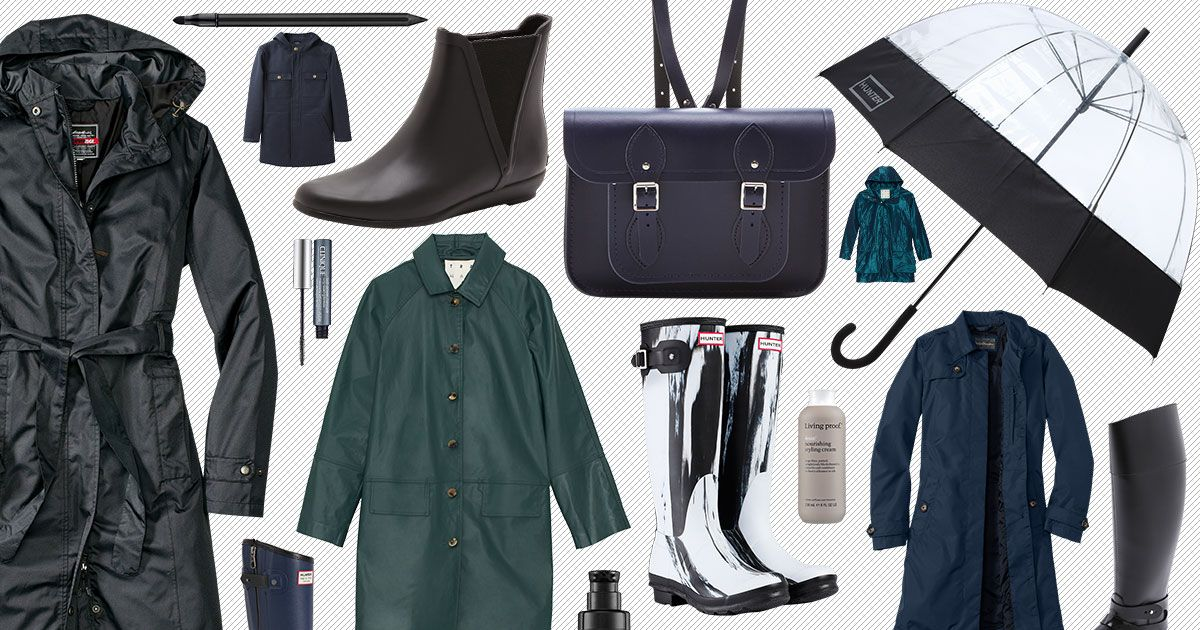 The 20 Best Pieces of Rain Gear for the Spring -- The Cut