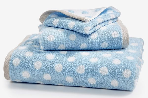 Martha Stewart Cotton Dot Spa Fashion Bath Towel