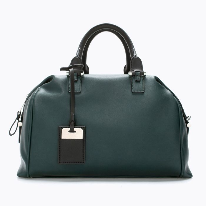 With Its Rich Wintergreen Leather Adjule Straps And Roomy Interior This Zip Top Zara Bowling Bag Is Perfect For Lugging Around On Weekends But Still