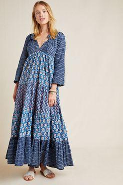 Ro's Garden Sonia Floral Maxi Dress