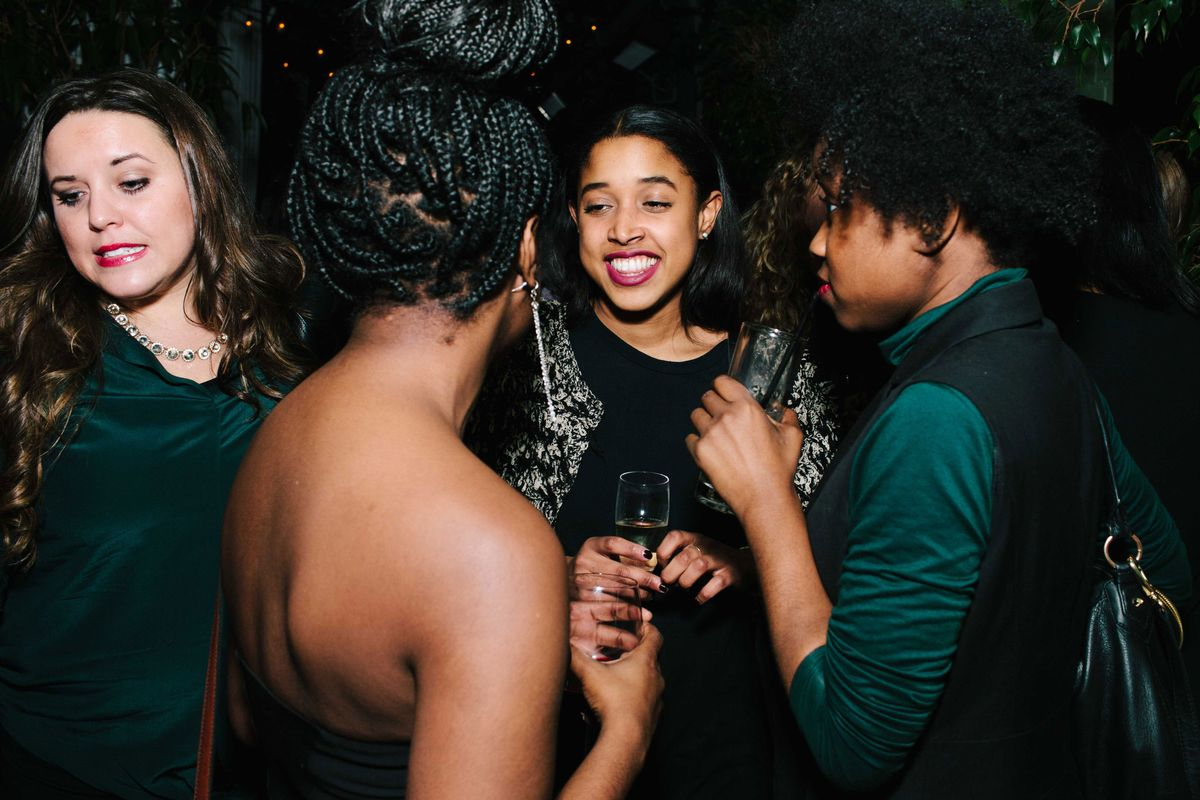 Jazmine hughes leah rodriguez tahirah hairston the cut partied