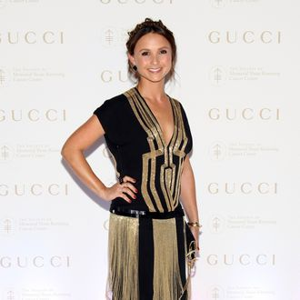 Georgina Bloomberg attends the Society of Memorial Sloan-Kettering Cancer Center 5th annual Spring Ball at the Metropolitan Museum of Art on April 25, 2012 in New York City.