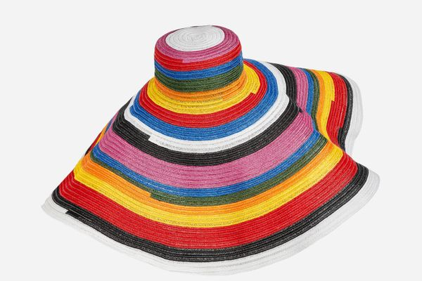 Multicolor Oversize Capeline