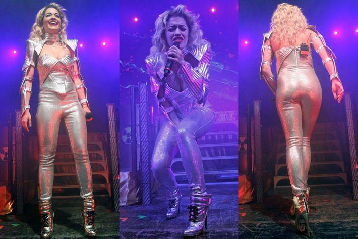 Rita Ora in Pucci.