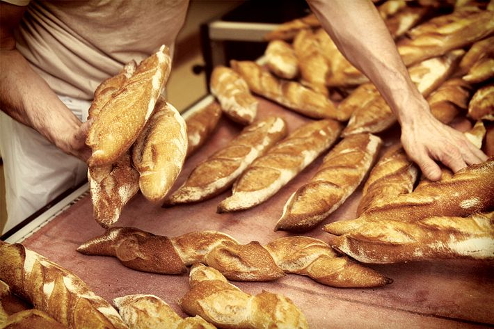 Baguettes from Maison Kayser.