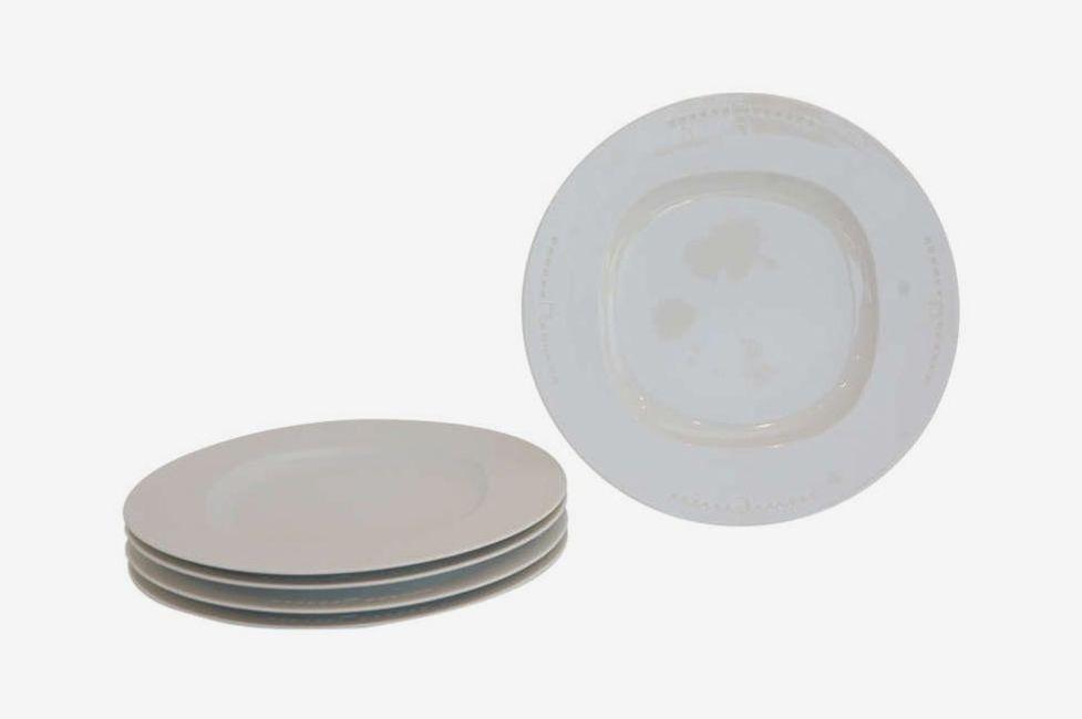 """Meier White"" Chop Plates by Richard Meier for Swid Powell"