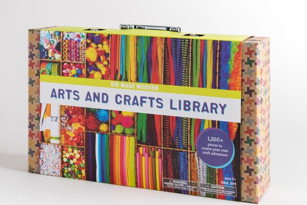 Arts and Crafts Library Set
